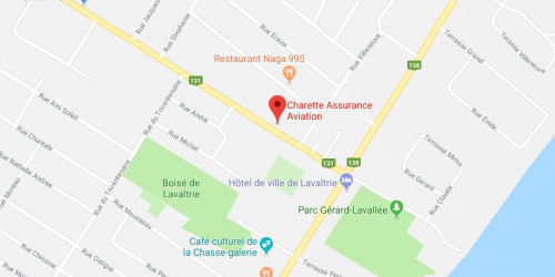 Charette Assurances Aviation | Google Map